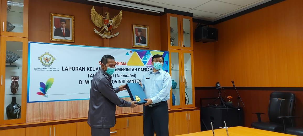 Pemerintah Kota Serang Serahkan LKPJ Ke BPK Banten - sabdanews